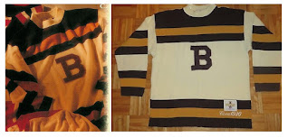 NHL CCM Heritage Jersey Collection - Boston Bruins circa 1930