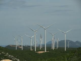 Projetos eólicos de energia