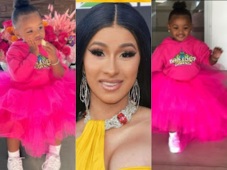 Cardi Celebrates Her Daughter Culture On Her Birthday