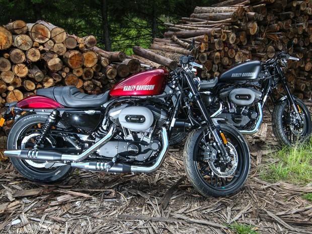 7aab503af Além da linha touring com novo motor Milwaukee-Eight, a Harley-Davidson tem  como outra novidade para a linha 2017 no Brasil a Roadster, nova integrante  da ...