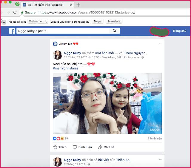 Xem status , bài viết facebook người khác đã ẩn không cần kết bạn