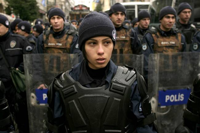 The most beautiful police girls from Turkey