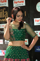 Nandita Swetha in a tight Green Choli Ghagra at IIFA Utsavam Awards March 2017 ~ 069.JPG