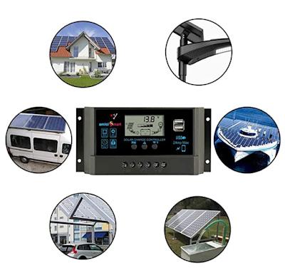 amiciSmart Solar Charger Controller An Intelligent Battery Regulator for Solar Panel