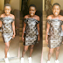 Check out the outfit this Nigerian girl made with nylon bags