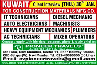 Construction Materials MFG Company in Kuwait