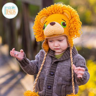 Crochet Lion Hat Pattern