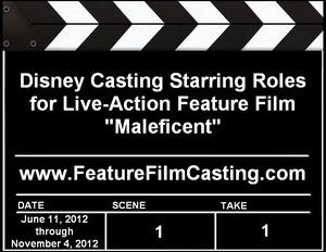 Disney Casting Maleficent Lead Roles