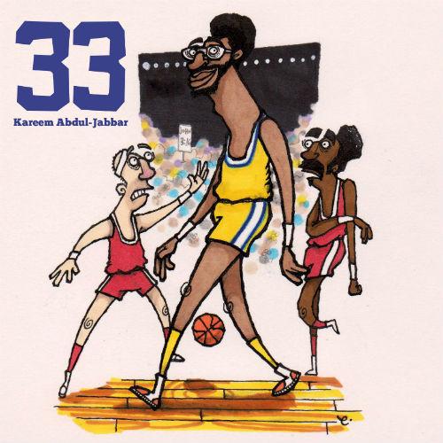 Number 33: Kareem Abdul-Jabbar