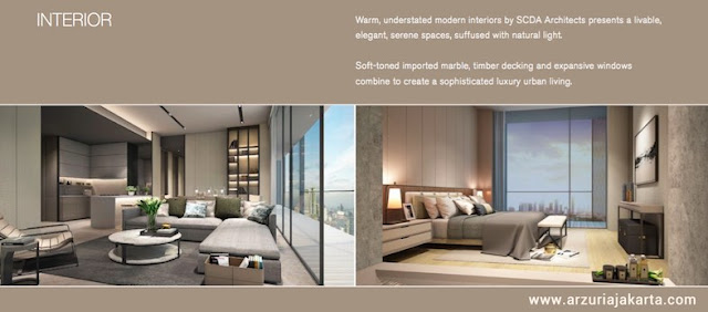 Arzuria Apartemen Interior Design Sample