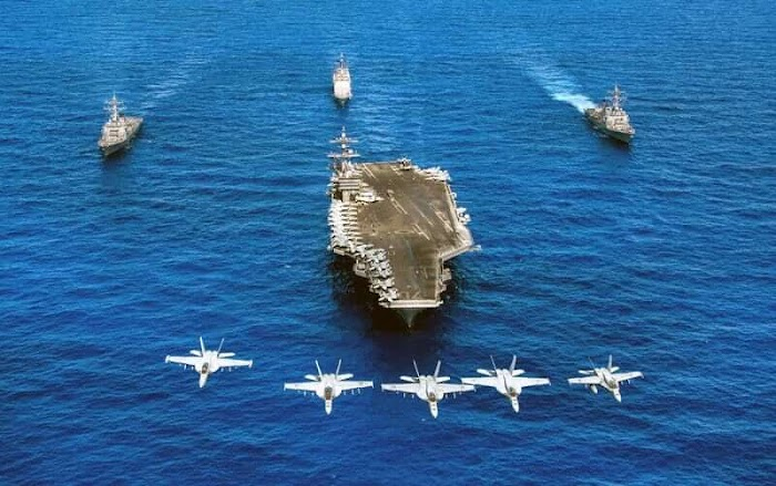 Top 10 Strongest Navies In The World