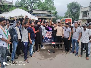 प्रधानमंत्री के जन्मदिन पर युवा कांग्रेस ने मनाया बेरोजगार दिवस