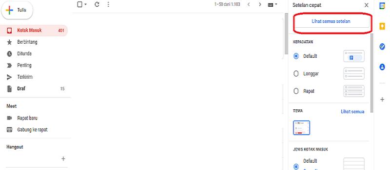 menghapus email yang terkirim