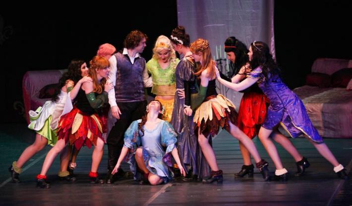 Princesas Bailarinas, danza