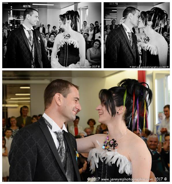 reportage photos mariage à la mairie, photos mariés amour bonheur tendresse