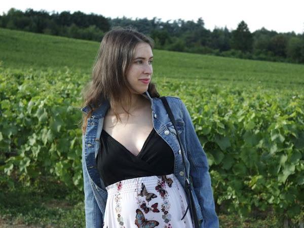 Look de Grossesse # 4 : Dans les vignes!