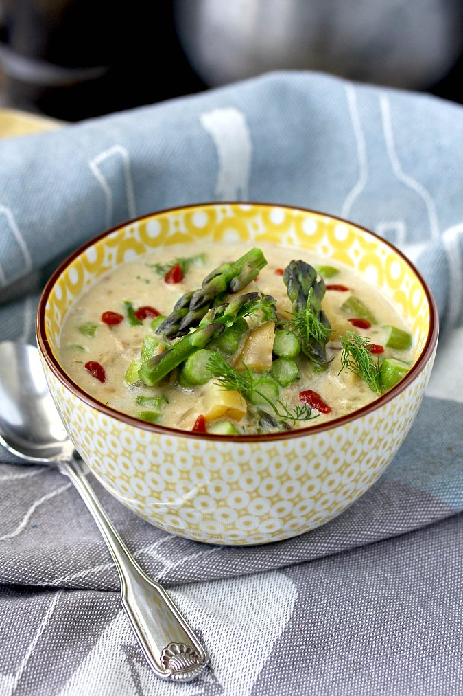Asparagus-Potato Chowder