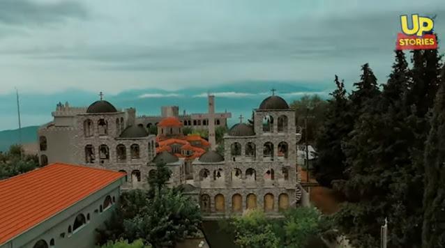 Το μεγαλύτερο καμπαναριό της Ελλάδας που ακούγεται στα 100 και πλέον χιλιόμετρα (βίντεο drone)