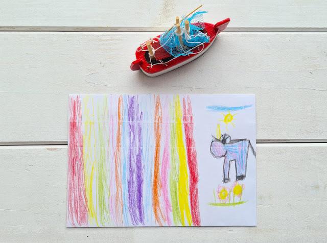 DIY: Umschlag für einen Gutschein gestalten (eine einfache Idee). Anstatt die Umschläge für die Geschenkgutscheine zu basteln, bemalen sie Kinder einfach und kreativ.