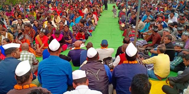 अतिथि विद्वानों ने कहा: वचन निभाओ, सरकार बच जाएगी | ATITHI VIDWAN NEWS