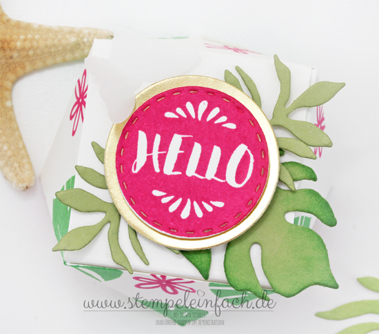 Diamanten Box-Stampin Up