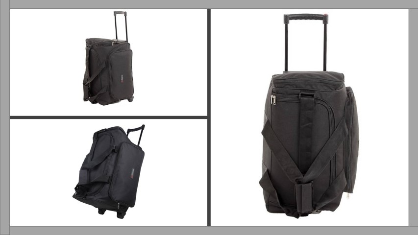 Bleu Trolley Small Travel Bag