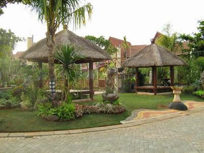 Taman tropis| Taman bali | Tukang Taman surabaya | www.jasataman.co.id