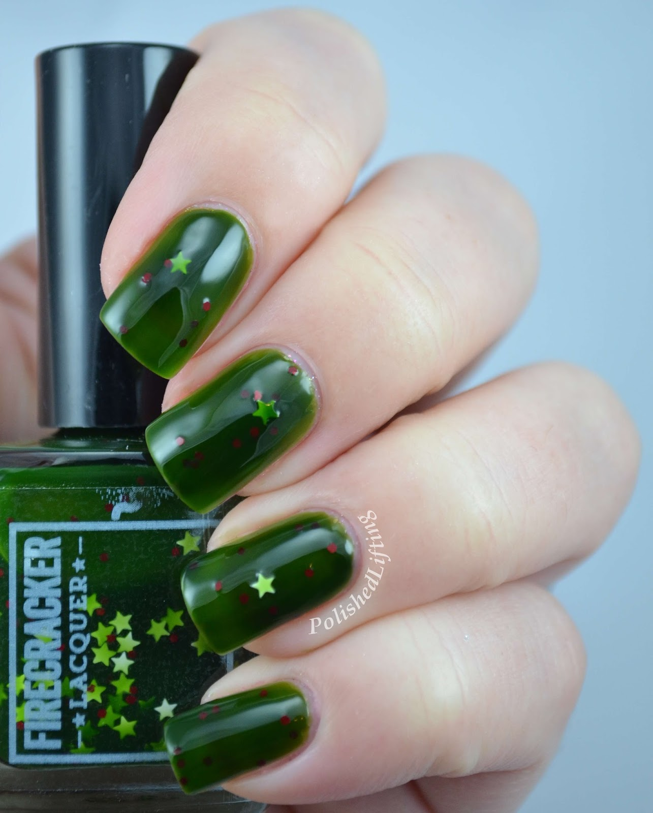 Firecracker Lacquer Jolly Holly