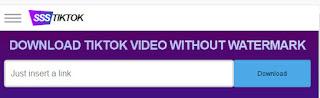 simpan video tiktok tanpa watermark