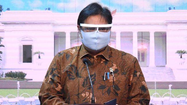 Soal RS yang Terbatas, Menteri Airlangga Tuding Anies Bohong?