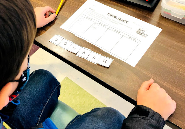 Thematic Word Sorts for fun phonics instruction--school words, October Words, Halloween, Thanksgiving, MLK, January, St. Patrick's Day Words, Spring words