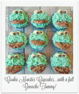 Cookie Monster Cupcakes, are a fun and easy bake.