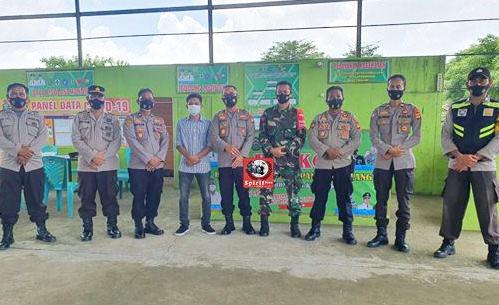 """Rombongan Kapolres Takalar Pantau Langsung Posko """"BALLA EWAKO"""" Desa Panyangkalang"""