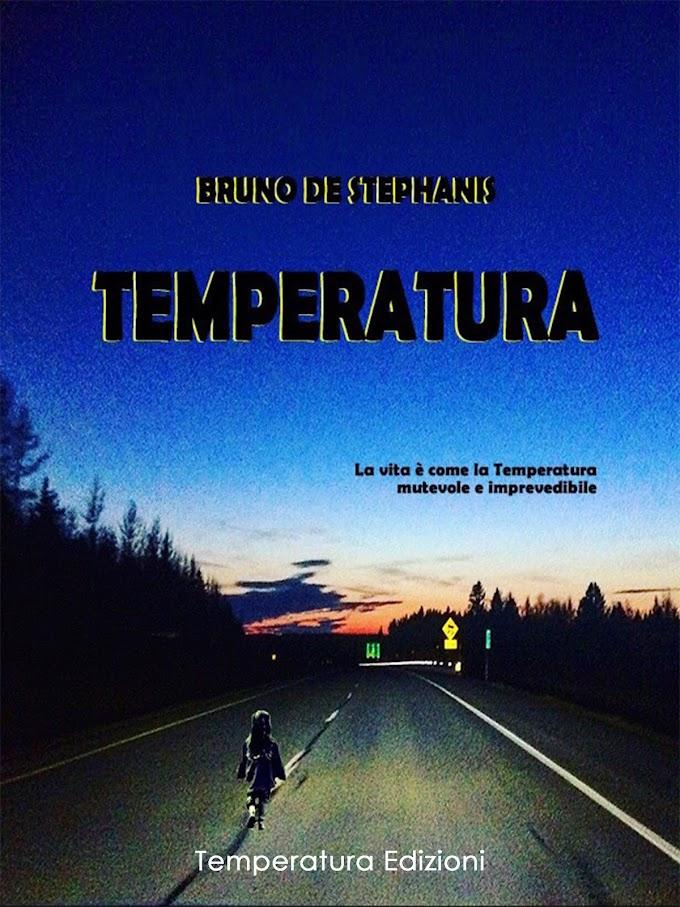Libri: Bruno De Stephanis presenta ''Temperatura''