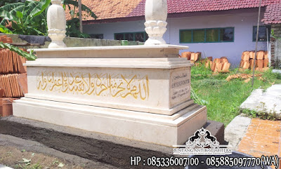 Makam Dari Marmer, Jual Makam Marmer Granit, Jual Kijing Kuburan Marmer