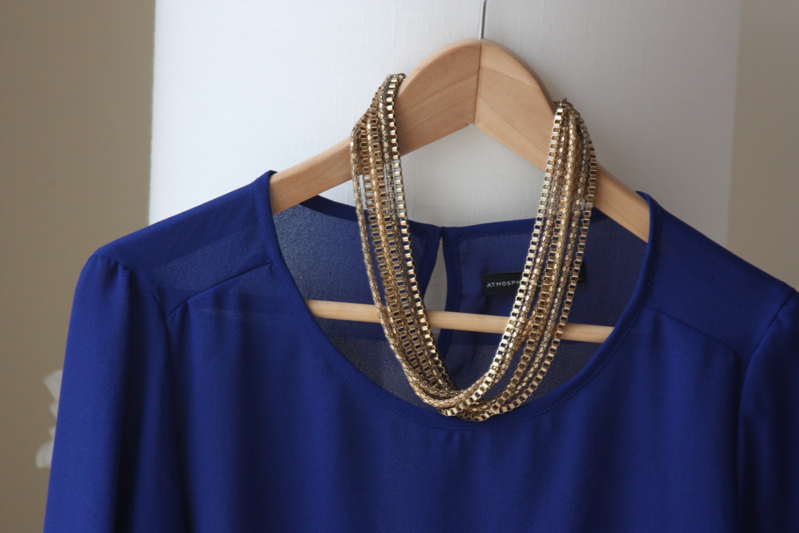 CLOSET   Blusa ZARA Azul Indigo   SIX, lifestyle blog