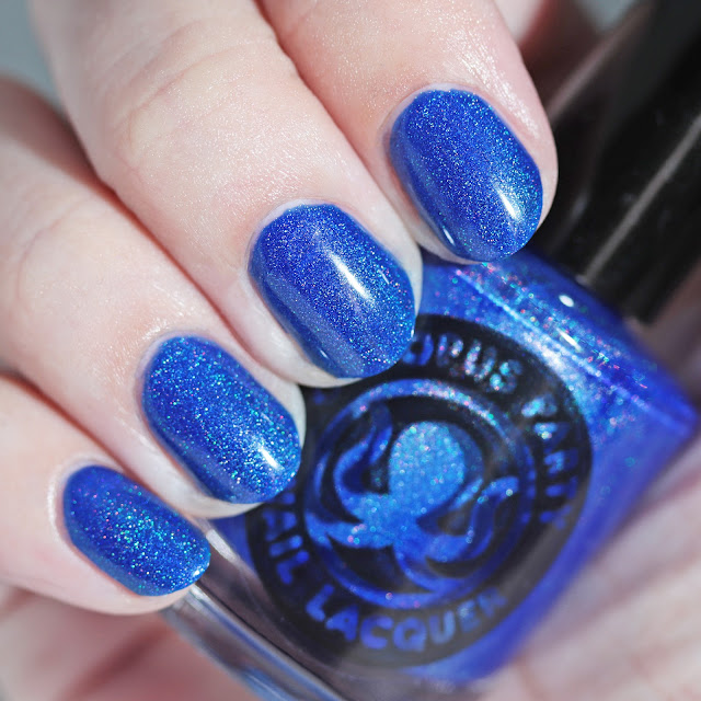 Octopus Party Nail Lacquer Lights Out