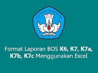 Format Laporan BOS K6, K7, K7a, K7b, K7c Menggunakan Excel