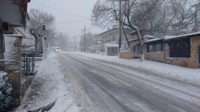 Χιονοπτώσεις και ισχυρό ψύχος φέρνει ο «Λέανδρος» από απόψε και στη Βορειοανατολική Πελοπόννησο