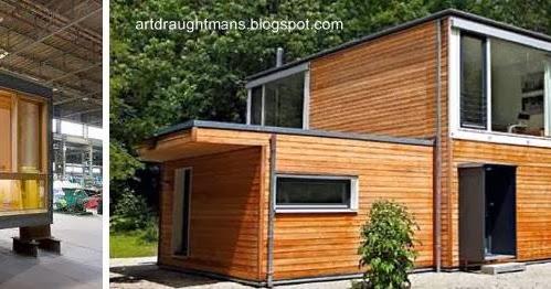 Arquitectura de casas conceptos sistemas y modelos de - Viviendas modulares diseno ...