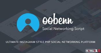 Oobenn - Nền Tảng Mạng Xã Hội PHP Phong Cách Instagram