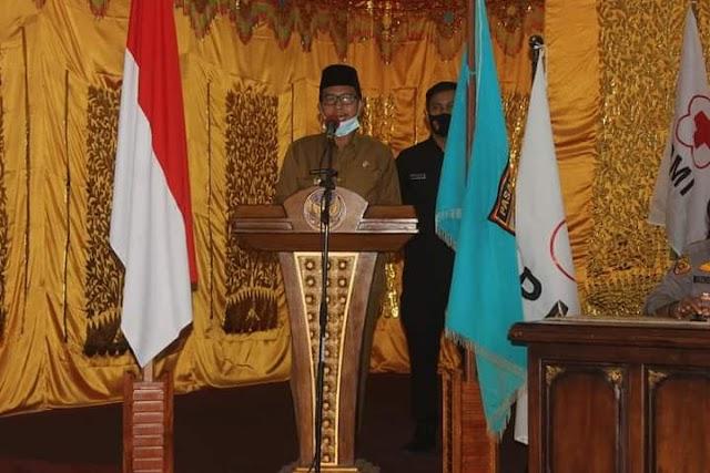 Wakil Bupati Risnawanto Buka Muskab ke IV PMI Kabupaten Pasaman Barat || dutametro