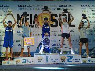 Picuiense 'bode' fica em 3º lugar na terceira edição da Meia Maratona do Sol em Natal
