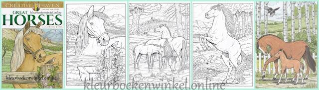 kleurboek great horses