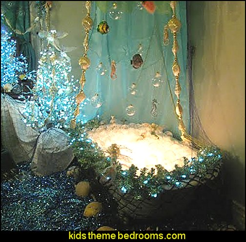 Mermaid bathroom theme house decor ideas - Little mermaid bathroom ideas ...