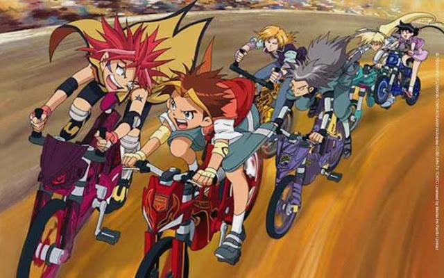 Anime balap sepeda yang pernah tayang di televisi indonesia