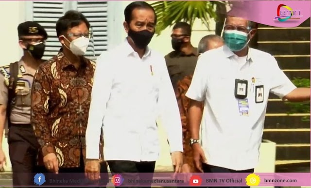 Vaksinasi Massal Yogyakarta Di Tinjau Langsung Oleh Presiden Jokowi
