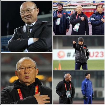 Các ảnh về huấn luyện viên Park Hang Seo