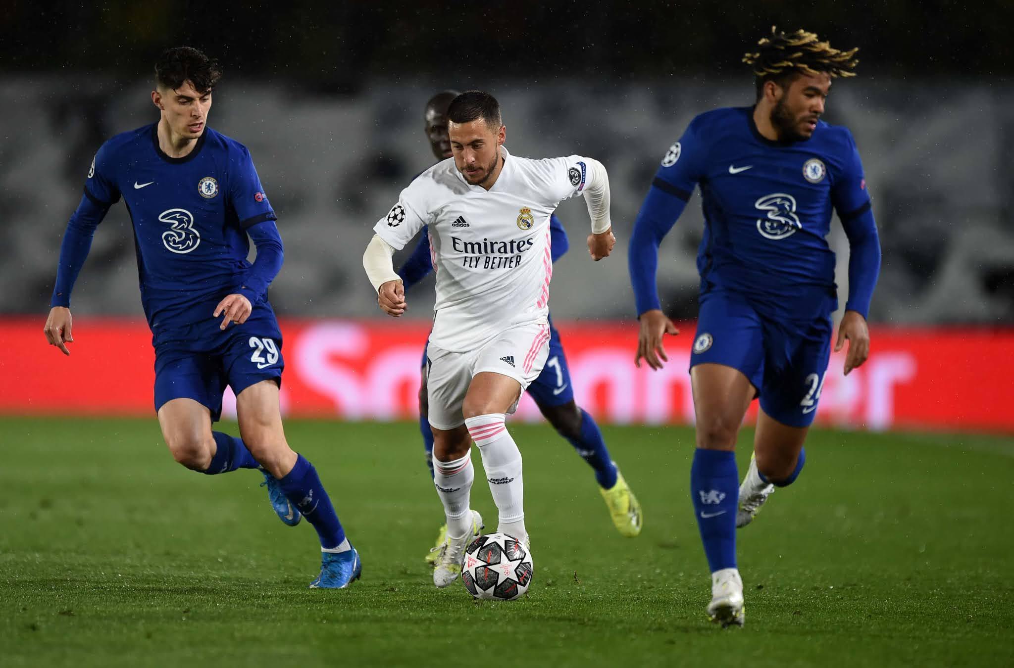 Real Madrid y Chelsea no se sacaron diferencias en la ida de semifinales