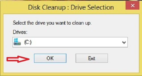 Disk Cleanup Tool Drive C